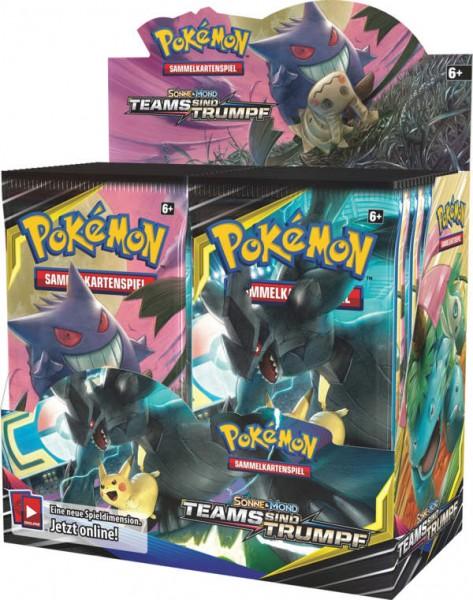Pokemon Sonne Mond 09 Teams sind Trumpf Booster