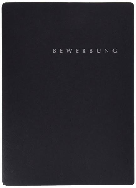 Pagna 3er Bewerbungsmappen Set schwarz Spezial 3.tlg mit Umschlag