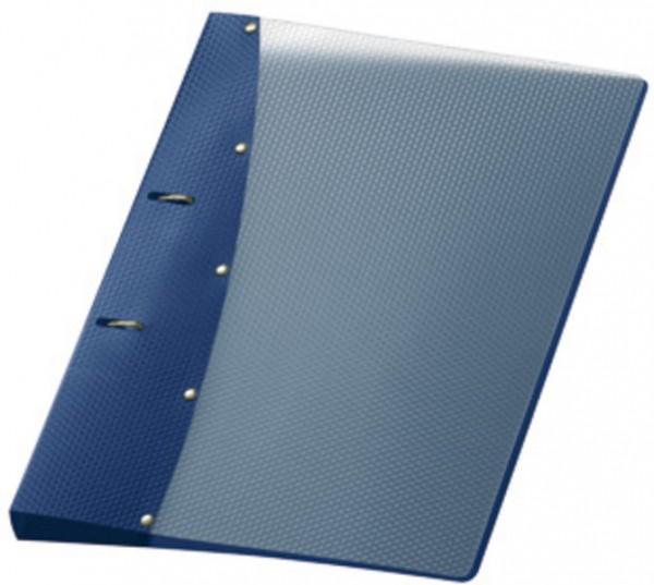 Ringordner 2 Ringe Diamond A4 Schulringbuch blau
