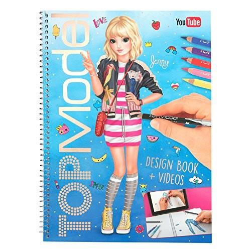 depesche top model design book malbuch kreativ buch  ebay
