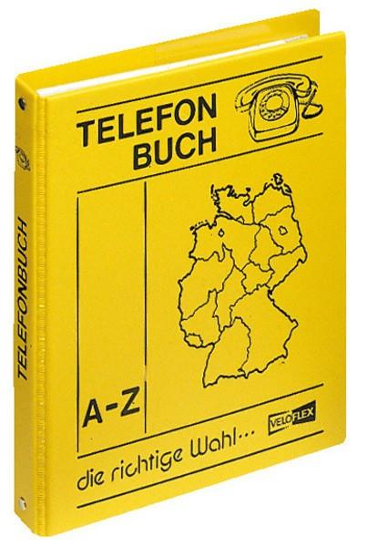 TELEFONRINGBUCH VELOFLEX Telefonbuch A5 gelb