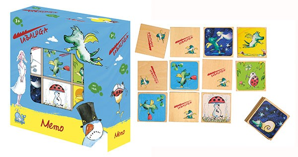 Tabaluga Memo Spiel Memory Legespiel Kinderspiel