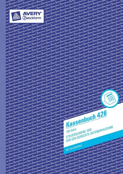 Avery Zweckform Kassenbuch, A4