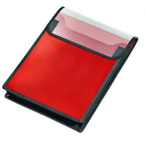 Veloflex Heftbox A4 hoch Velobag Sammelbox rot
