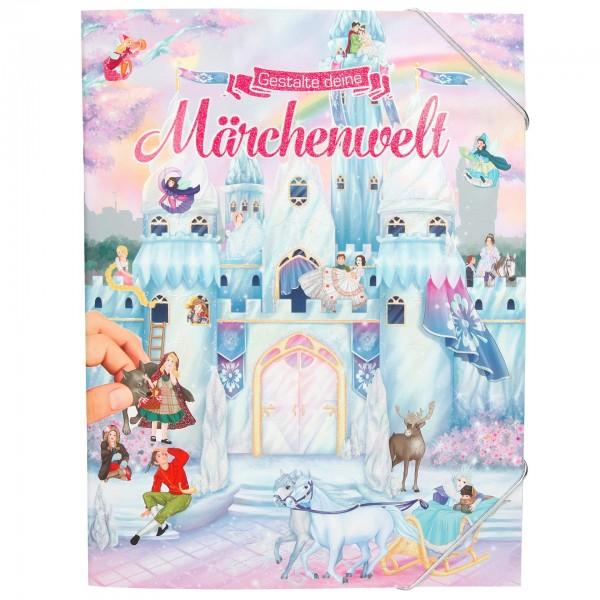 Depesche 10368 Malbuch - Gestalte deine Märchenwelt