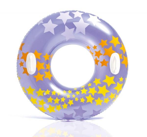 Intex Schwimmreifen Stargaze mit Griffen, sortiert