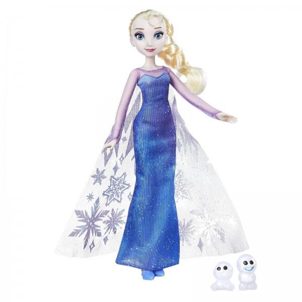 Hasbro B9201ES0 Disney Eiskönigin Zauber der Polarlichter Elsa + Schneechen