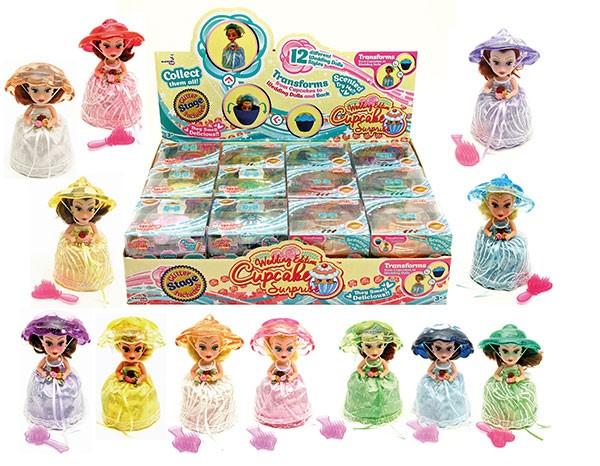 Wedding Cake Surprise Prinzessinnenpüppchen Cuocake Puppe