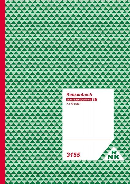 Kassenbuch Sd A4 Rnk 3155