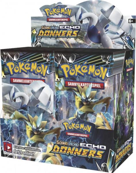 Pokemon SM08 Echo des Donners Booster