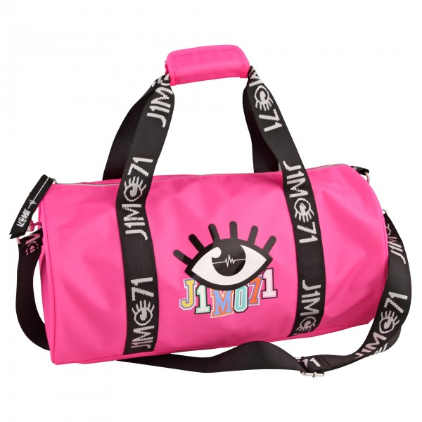 Depesche 10333 Sporttasche, Lisa und Lena J1MO71, pink, ca. 21L