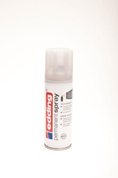 Edding 5200 Permanent Spray  seidenmatt, 200ml, grau