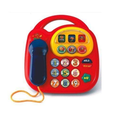 Simba 104012412 Kleinkind ABC Telefon 20x20cm