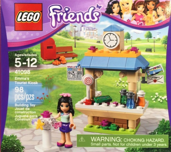 LEGO Friends 41098 - Emmas Kiosk.