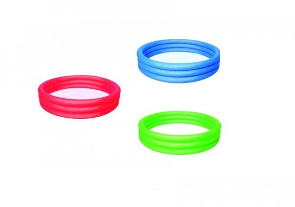 Bestway Pool 3 Ring Uni, 152 x 30 cm, sortiert