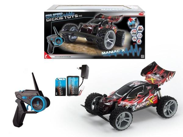 Dickie - RC Maniac X ferngesteuerter Buggy Auto 1:12 Ready-to-Run