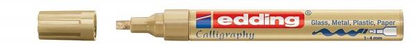 Edding 755 Glanzlackmarker  creative 1- 4mm gold