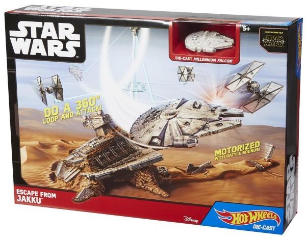 Mattel CGN32 - Star Wars Episode VII Raumschiff-Spielset Das erwachen der Macht