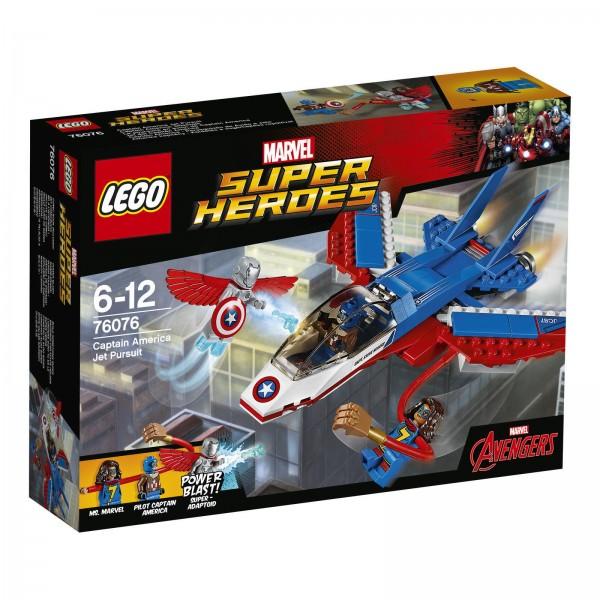 LEGO® Marvel Super Heroes 76076 - Captain America Düsenjet