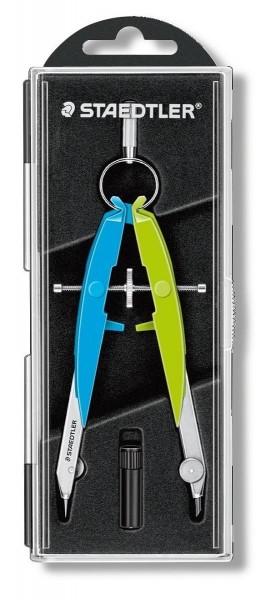 STAEDTLER® Zirkel Mars comfort neon, blau/grün