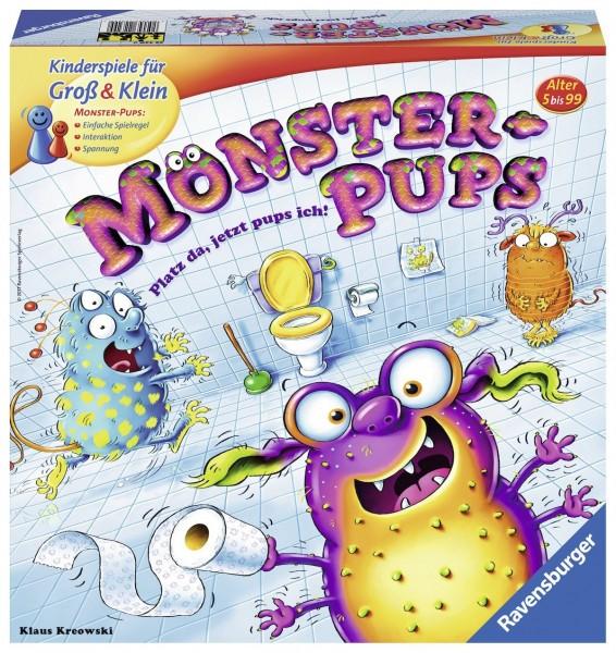 Ravensburger Kinderspiele 22329 Monster Pups Lustige Kinderspiel