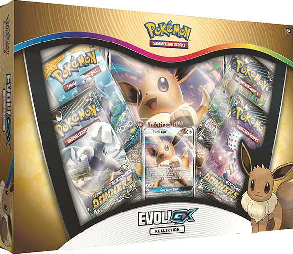 Pokemon Evoli-GX Kollektion deutsch Sammelkarten
