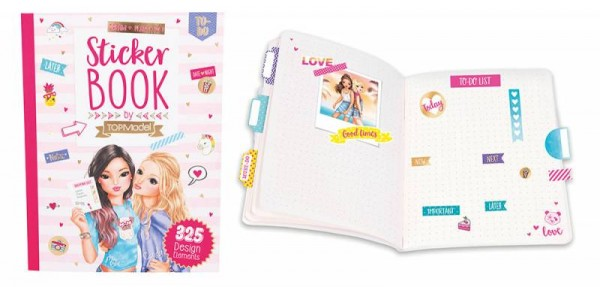Top Model 8557 Stickerbuch gold