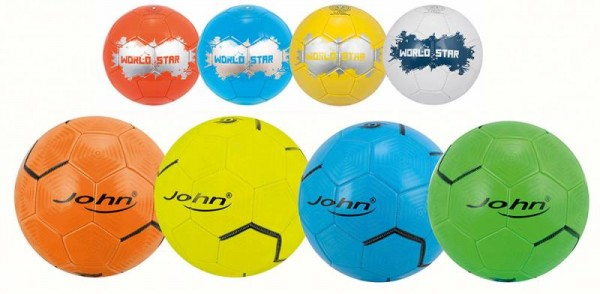John Synthetik-Leder Fussball World-Star 20cm, 280 - 300g
