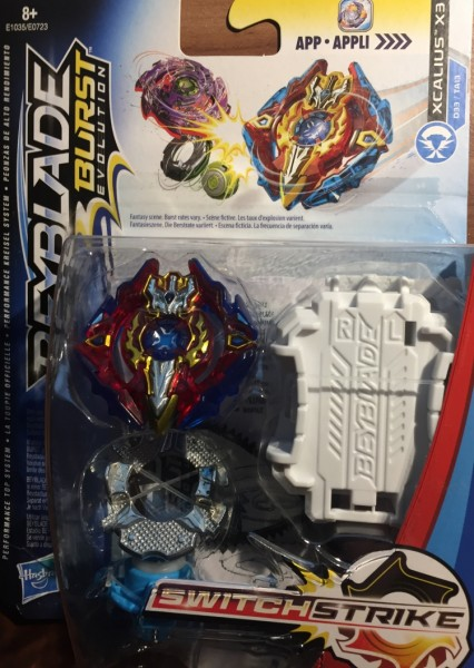 Beyblade Burst Switch Strike Xcalius X3