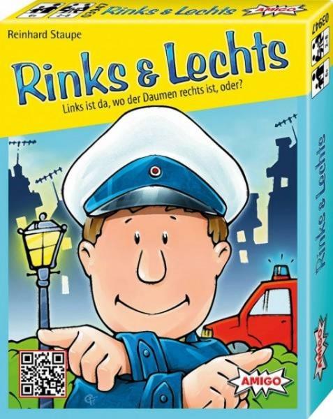 AMIGO Kartenspiel Rinks & Lechts Lernspiel Kinderspiel