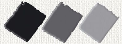 nerchau Hobby Acryl matt Schwarz 59ml Acrylfarbe