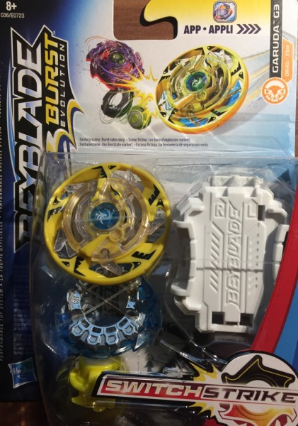 Beyblade Burst Switch Strike Garuda G3