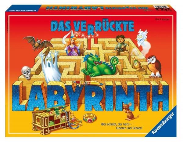 Ravensburger 26446 Das verrückte Labyrinth Brettspiel Familienspiel
