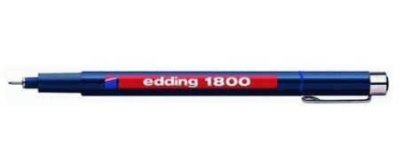 edding 1800 Faserzeichner Profipen, blau, 0.7mm