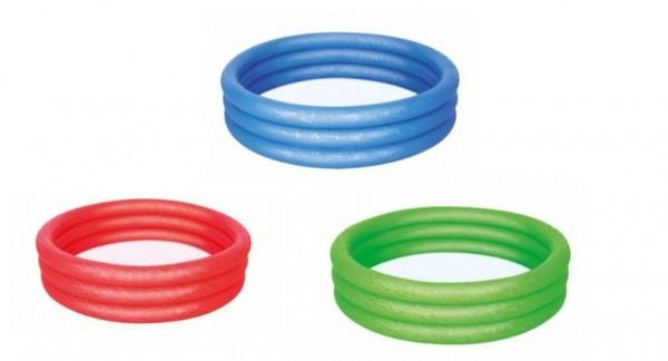 Bestway 51025 Pool 3-Ring Uni, 122 x 25cm,