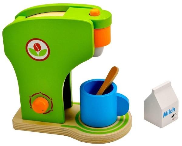 Idena kleine Küchenmeister Kaffeemaschine aus Holz Küchen Zubehör