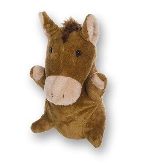 Handspielpuppe Pferd