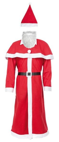 Idena Weihnachtsmann-Kostüm, 5-teilig