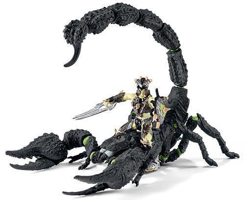 Schleich 70124 - Skorpionreiter Drachen Fantasy Kämpfer Ritter