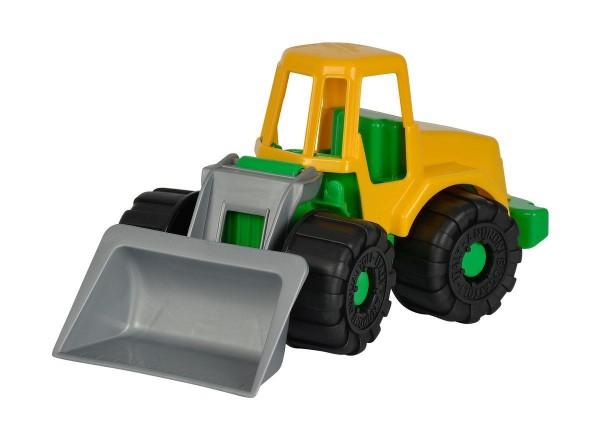 Simba Grosser Power Worker 4-fach, Kipper, Bagger und Schaufelbagger