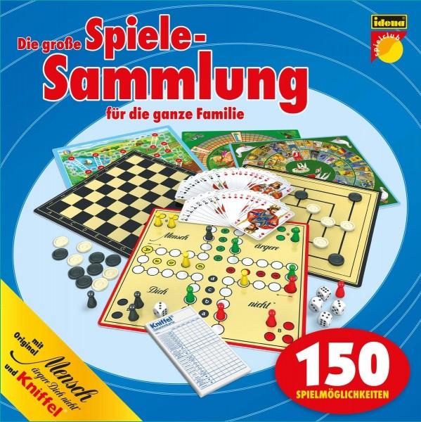 Idena 6102589 Spielesammlung mit 150 Spielmöglichkeiten