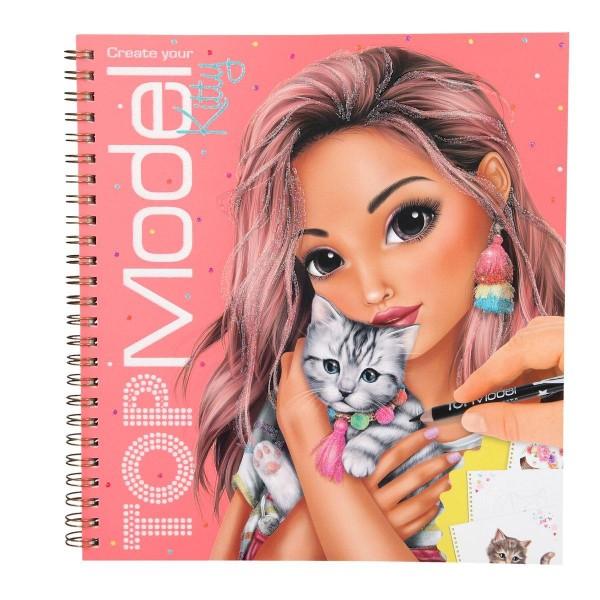 Depesche TOPModel Malbuch Create your Kitty