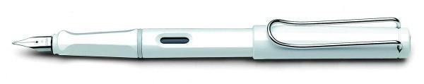 LAMY 19677 - Füllhalter Safari weiß, M, Modell 019