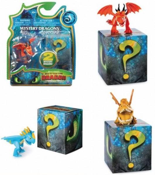 Dragons Mystery 2er Pack UV leuchtend sortiert