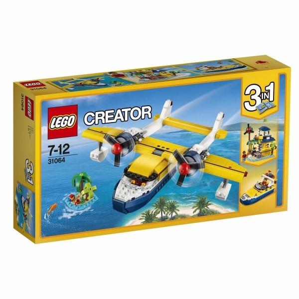 LEGO Creator 31064 - Wasserflugzeug-Abenteuer Flugzeug Jet