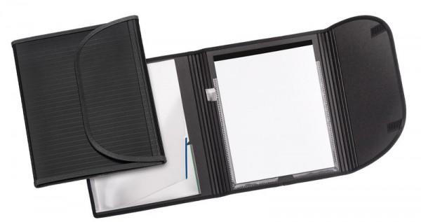 Veloflex A4 Schreibmappe Tagungsmappe mit Klettverschluss