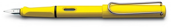 LAMY Füllhalter Safari F gelb, Modell 18