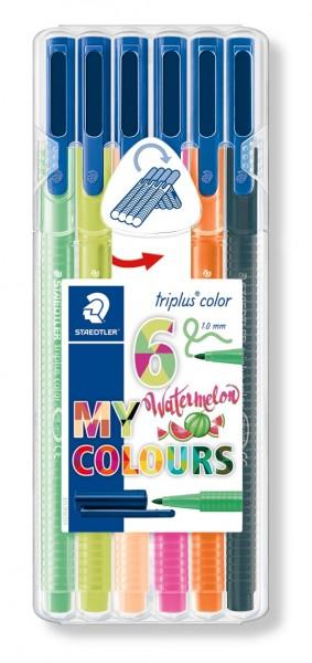 Staedtler Fasermaler triplus color Nature 6er