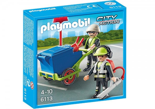 PLAYMOBIL 6113 - Stadtreinigungs-Team