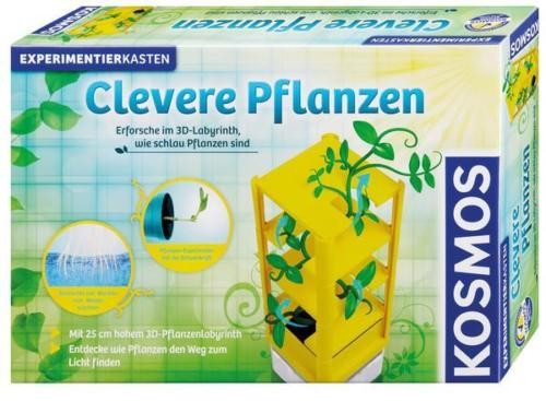 KOSMOS Clevere Pflanzen Naturspiel Experimente Forschung